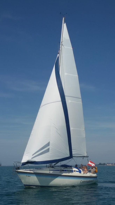 """Unsere Yacht """"Commodore 2"""" auf dem Bodensee"""